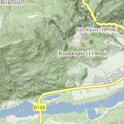 Tannheimer Tal Karte.Tannheimer Tal Interaktive Karte